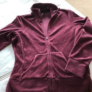 Zella Burgundy Sweat Suit